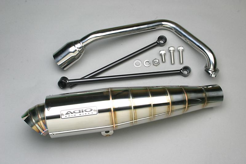 【ADIO】BB-SHOOT 不銹鋼全段排氣管 - 「Webike-摩托百貨」