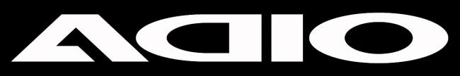 【ADIO】ADIO logo貼紙(大) - 「Webike-摩托百貨」