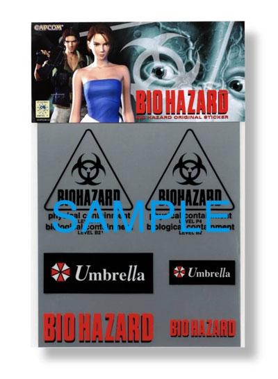 【TANIDA】惡靈古堡 貼紙Umbrella - 「Webike-摩托百貨」