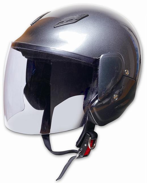 【PALSTAR】Comfort Helmet Family Jet 可掀式安全帽Gun Metallic - 「Webike-摩托百貨」