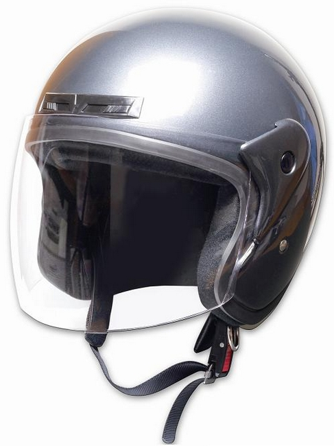 【PALSTAR】Comfort Helmet Full Face 可掀式安全帽 Gun Metallic - 「Webike-摩托百貨」