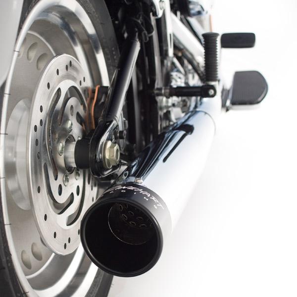 【Rinehart】2in1 全段排氣管 (鍍鉻/黑色尾蓋) - 「Webike-摩托百貨」