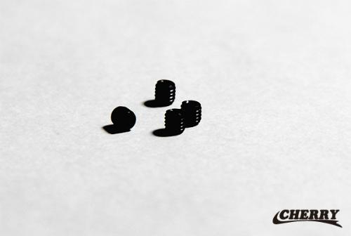 【CHERRY】CR化油器 鋁合金喇叭口固定用固定螺絲 4個組 - 「Webike-摩托百貨」