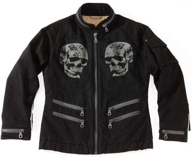 【S.O.A.B】Skull Face骷顱頭夾克 - 「Webike-摩托百貨」