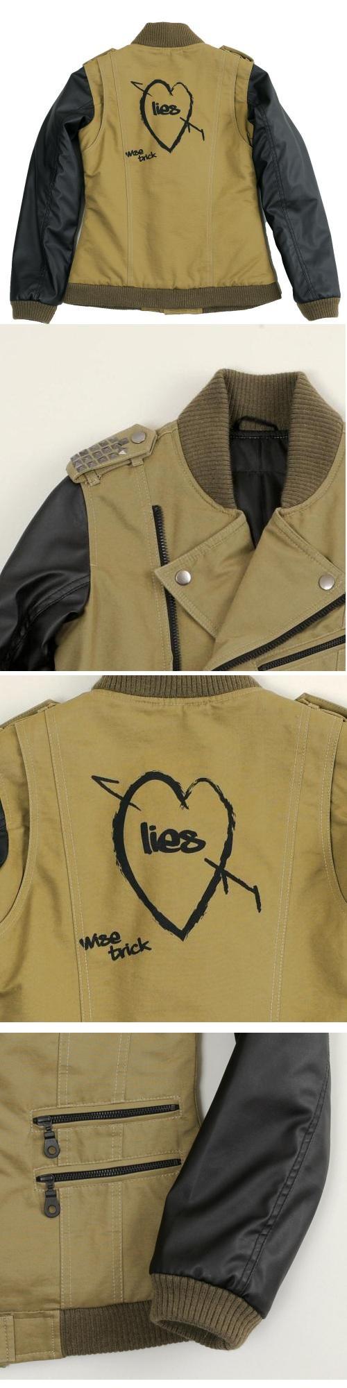 【S.O.A.B】手繪標記Semi-Double 夾克 - 「Webike-摩托百貨」