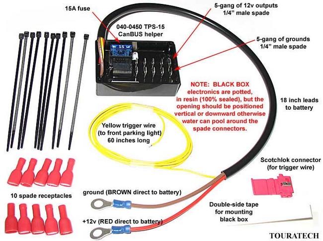 【TOURATECH】電源供應器單元 TPS15 - 「Webike-摩托百貨」