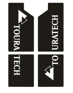 【TOURATECH】前叉用 貼紙套件組 - 「Webike-摩托百貨」