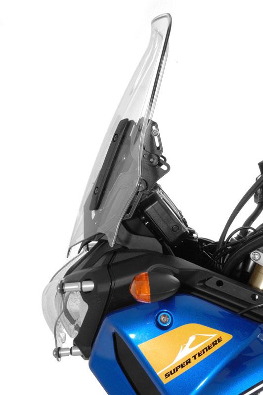 【TOURATECH】Wind風鏡Adjuster+導航安裝轉換器 組套 - 「Webike-摩托百貨」