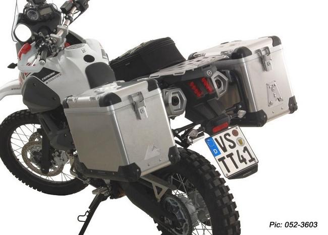【TOURATECH】ZEGA-PRO「And-black」鋁合金馬鞍箱Pannier System  - 「Webike-摩托百貨」