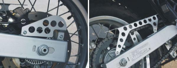 【TOURATECH】鏈條護蓋/輪速感應器護蓋 - 「Webike-摩托百貨」