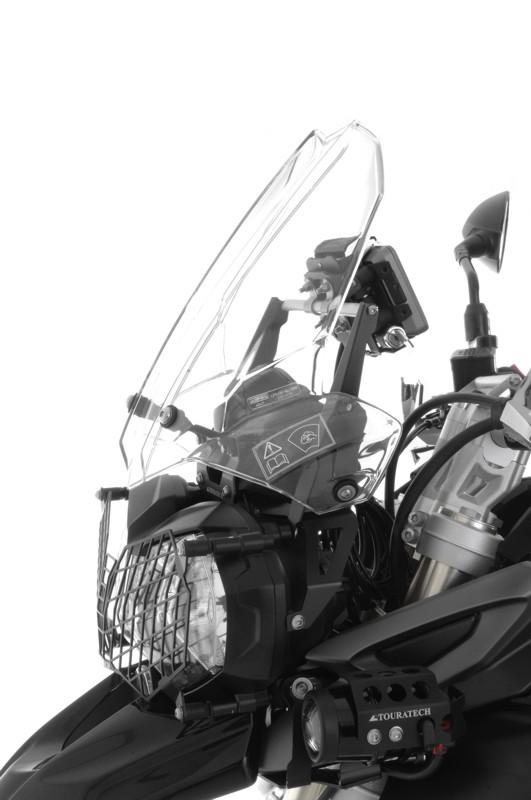 【TOURATECH】Wind風鏡Adjuster +導航安裝轉換器 組套 - 「Webike-摩托百貨」