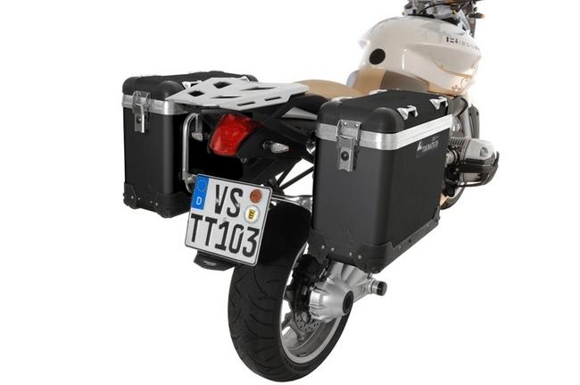 【TOURATECH】ZEGA-PRO「And-black」Pannier System 馬鞍箱 - 「Webike-摩托百貨」