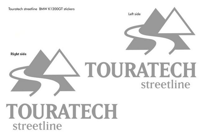 【TOURATECH】Decal貼紙組套 - 「Webike-摩托百貨」