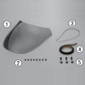 【DAYTONA】【AR Breaker 維修零件】 風鏡推入式鉚釘 - 「Webike-摩托百貨」