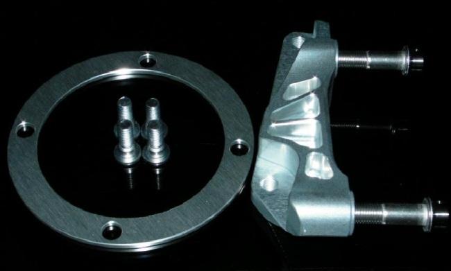 【NA Metal Craft】φ320Brembo 100mm輻射煞車卡鉗座 - 「Webike-摩托百貨」