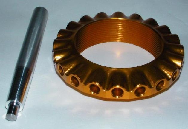 【NA Metal Craft】後懸吊調整螺帽 - 「Webike-摩托百貨」