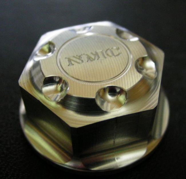 【NA Metal Craft】M18 上三角台軸心螺帽 - 「Webike-摩托百貨」