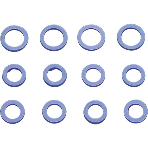 【KUSTOM1】藍色矽膠推桿油封套件 - 「Webike-摩托百貨」