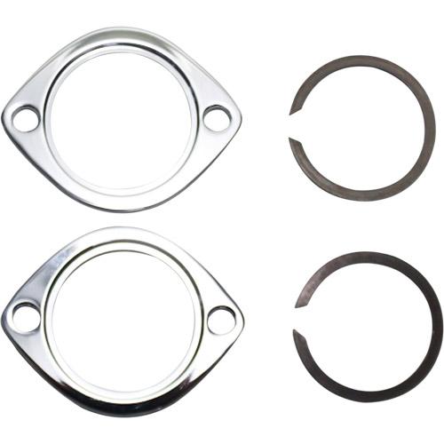【KUSTOM1】排氣管固定夾和固定扣環套件 - 「Webike-摩托百貨」