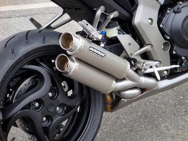 【BODIS】不銹鋼/全鈦合金排氣管尾段 (GPX2) - 「Webike-摩托百貨」