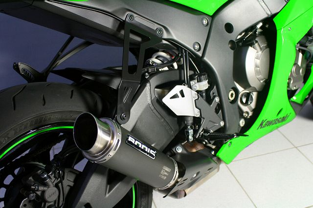 【BODIS】黑色不銹鋼排氣管尾段  (GPC-1) - 「Webike-摩托百貨」