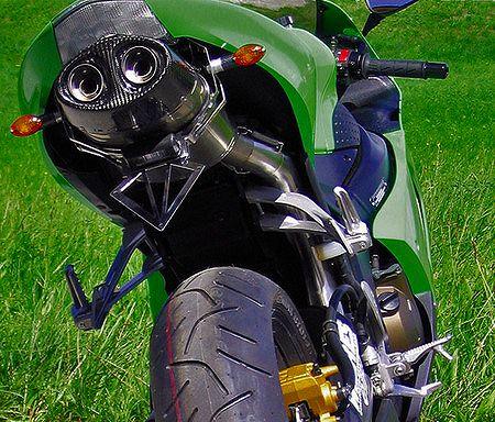 【BODIS】不銹鋼/全鈦合金全段排氣管 (Oval Q1) - 「Webike-摩托百貨」