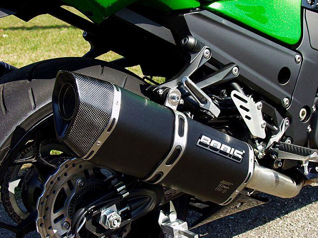【BODIS】黑色不銹鋼排氣管尾段  (4-2 Penta-Tec) (含觸媒) - 「Webike-摩托百貨」