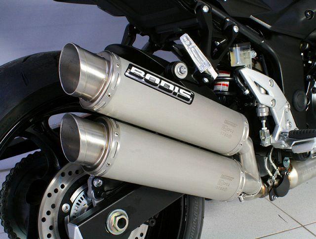 【BODIS】不銹鋼研磨排氣管尾段 (4-2 GPC-X2) - 「Webike-摩托百貨」
