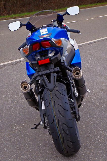 【BODIS】GP1 4-2不鏽鋼排氣管尾段(黑防燙蓋) - 「Webike-摩托百貨」