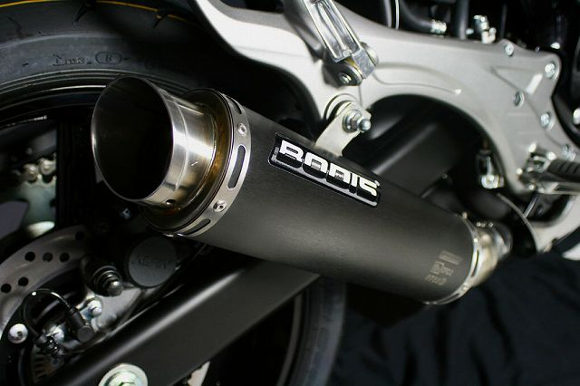 【BODIS】黑色不銹鋼排氣管尾段  (GPC-2) - 「Webike-摩托百貨」