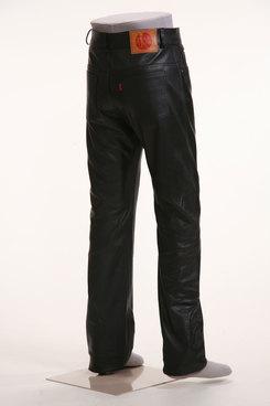 【G-QUBIC】輕量皮革 直筒皮褲 - 「Webike-摩托百貨」