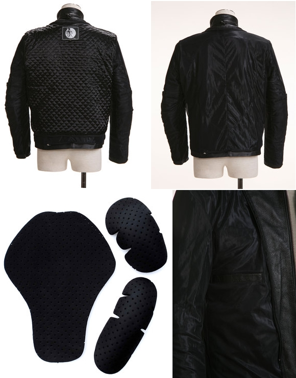 【G-QUBIC】輕量皮革 Single外套 - 「Webike-摩托百貨」