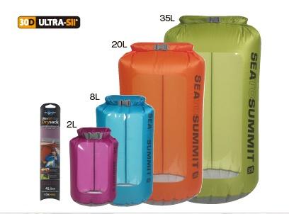 【SEA TO SUMMIT】Ultra-Sil® View Dry Sack 可透視防水袋 - 「Webike-摩托百貨」