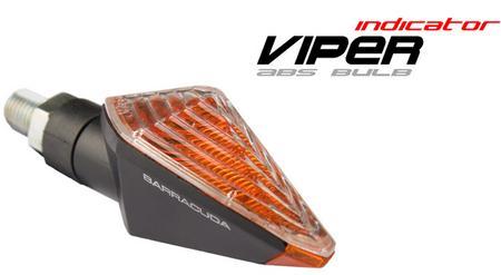 【BARRACUDA】VIPER Carbon Look 方向燈 (短) - 「Webike-摩托百貨」