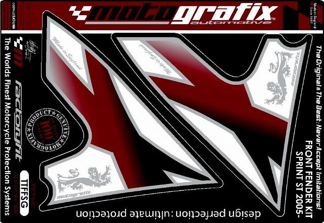 【MOTOGRAFIX】車身貼紙(前土除) - 「Webike-摩托百貨」