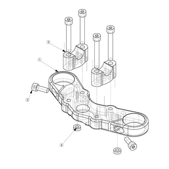 【荒木fmachine】上三角台套件 - 「Webike-摩托百貨」