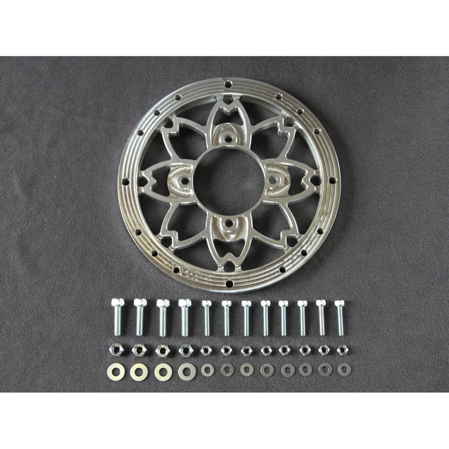 【荒木fmachine】10吋櫻花圖案輪框墊片 (三明治型) - 「Webike-摩托百貨」