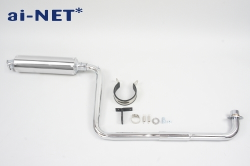 【ai-net】三輪車套件 全段排氣管 - 「Webike-摩托百貨」