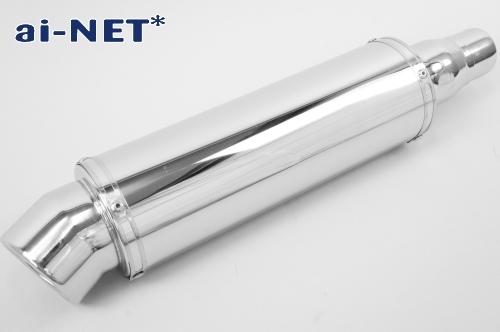 【ai-net】不銹鋼消音器全段排氣管 - 「Webike-摩托百貨」