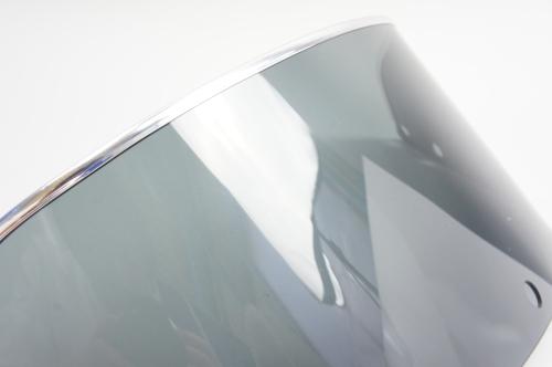 【ai-net】短版燻黑色風鏡 16.5公分 (附邊條) - 「Webike-摩托百貨」