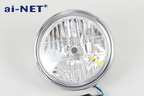 【ai-net】8吋 晶鑽型頭燈總成 - 「Webike-摩托百貨」