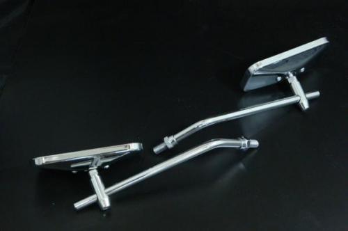 【ai-net】小型方型後視鏡 標準型支架 - 「Webike-摩托百貨」