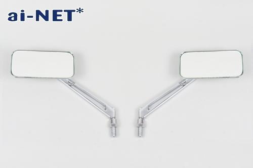 【ai-net】613 方型後視鏡 (台灣製) - 「Webike-摩托百貨」
