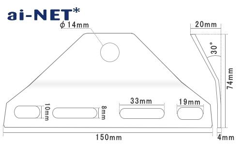 【ai-net】Bates型 輔助燈支架 - 「Webike-摩托百貨」