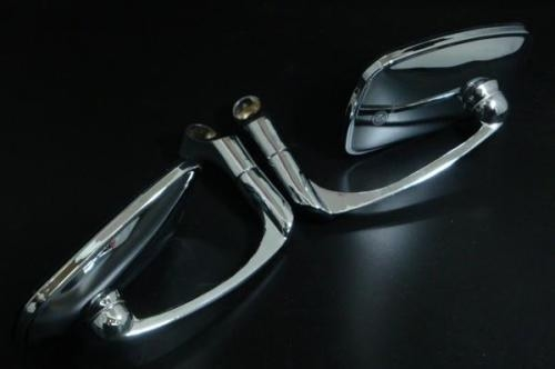 【ai-net】Burren 方型後視鏡 A  - 「Webike-摩托百貨」