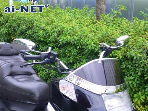 【ai-net】Burren Oval 後視鏡 A - 「Webike-摩托百貨」