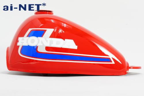 【ai-net】Monkey油箱 紅色 4L 2型 (藍色/銀色) - 「Webike-摩托百貨」