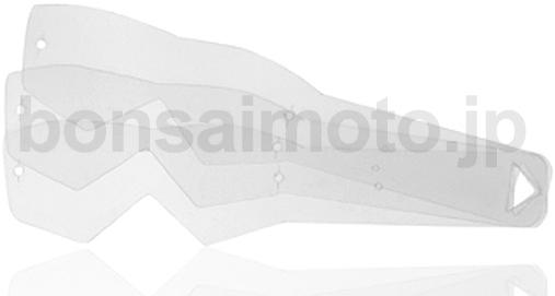 【ariete_en】Tear-off 快拆薄膜片標準型(Single lens) - 「Webike-摩托百貨」