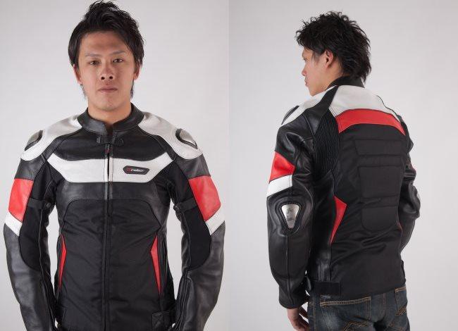【RIDEZ】真皮外套運動型RLJ2407 - 「Webike-摩托百貨」