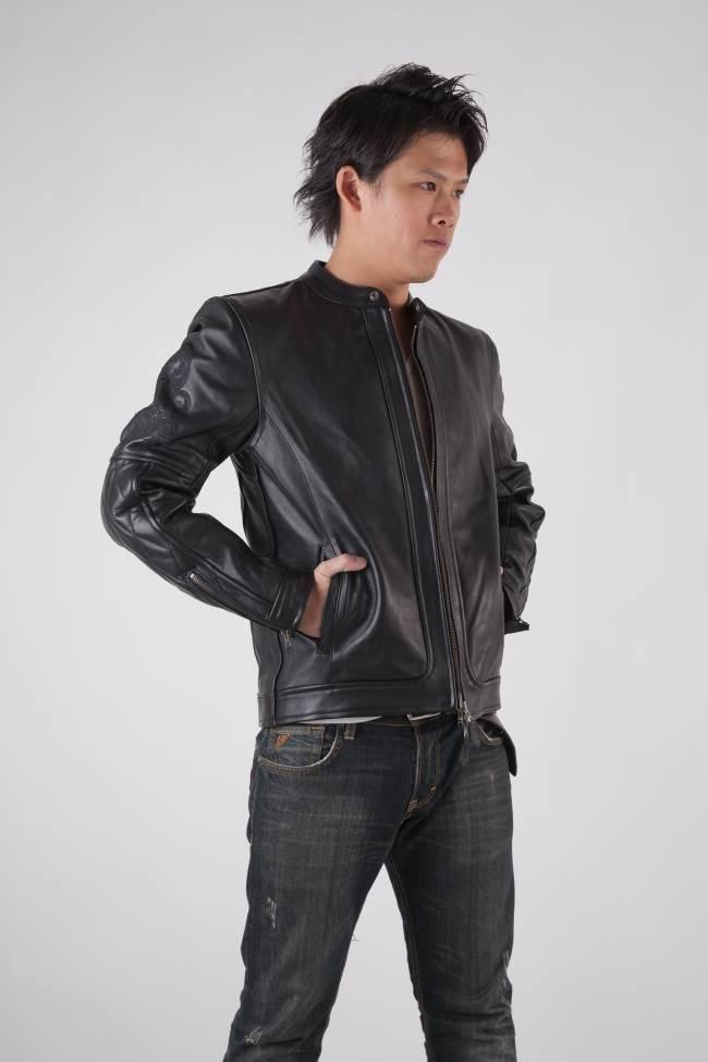 【RIDEZ】真皮外套 油皮Single Riders RLJ2403 - 「Webike-摩托百貨」